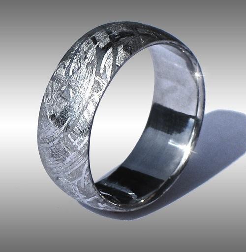a14f70dfecf44 METEORITE RING, METEORITE RINGS, METEORITE BANDS, METEORITE WEDDING ...